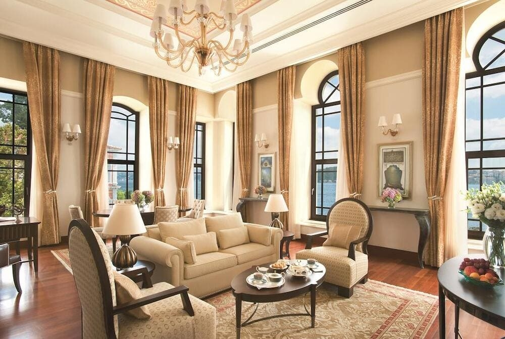 Отлеь Four Seasons Hotel Istanbul at the Bosphorus, Стамбул